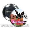 Immagine di Spilla da Personalizzare con Logo - Foto - Grafica - diametro 44 mm