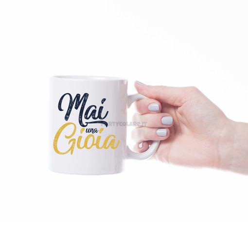 Immagine di Tazza in Ceramica da Personalizzare con Foto e Frasi