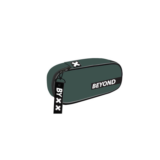 Immagine di Bauletto Beyond in tessuto verde militare