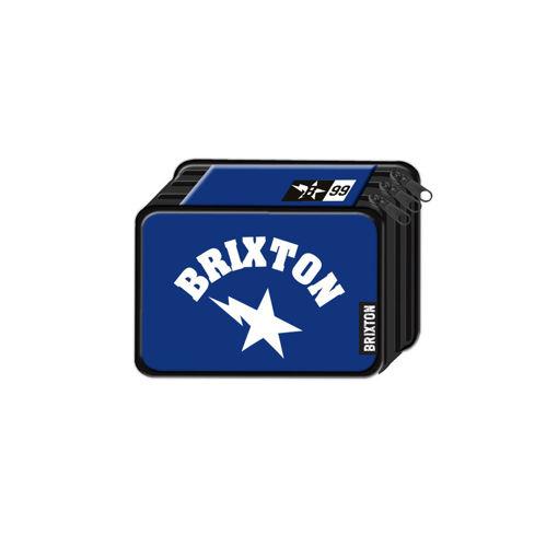 Immagine di Astuccio 3 Zip Brixton Blu