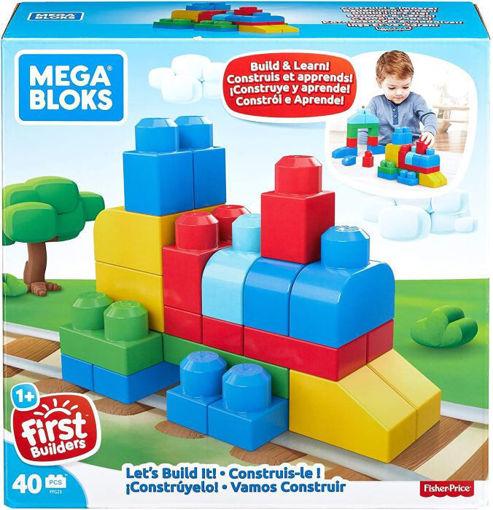 Immagine di Fisher-Price Mega Bloks 40 Costruzioni