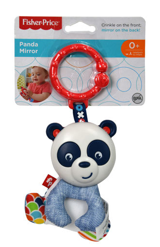 Immagine di Fisher-Price Sonaglino Specchietto del Panda
