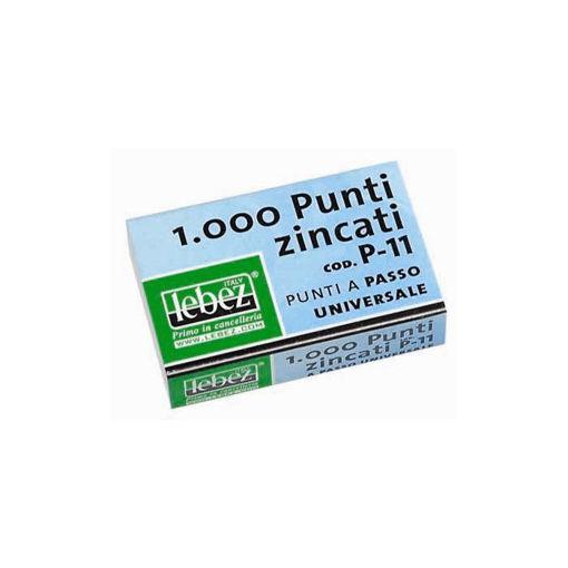 Immagine di Lebez 1000  Punti per Spillatrice in Metallo - P11 Universali