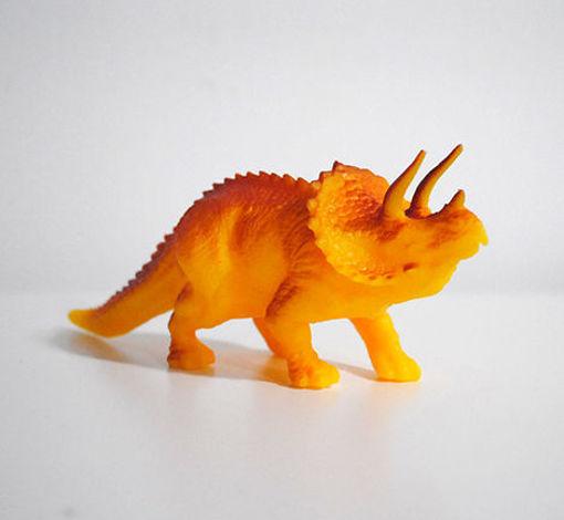 Immagine di Cake Topper Dinosauro - circa 11 cm - Triceratopo