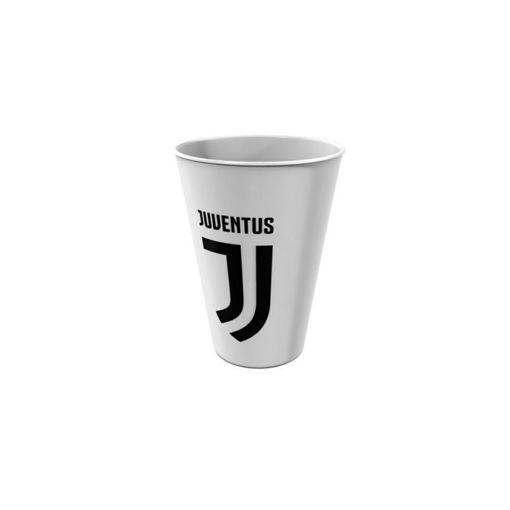 Immagine di Bicchiere 260 ml in melamina ufficiale Juventus
