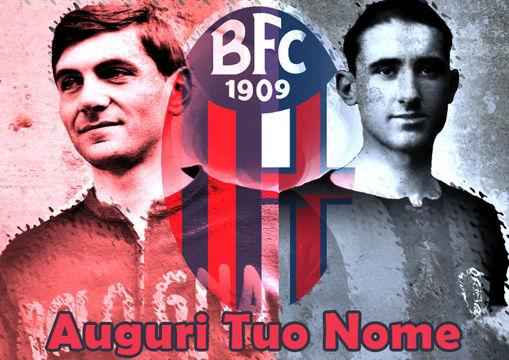 Immagine di Cialda per Torta in Ostia o Zucchero - Bologna Calcio (bologna004)