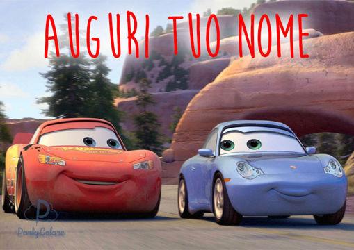 Immagine di Cialda per Torta in Ostia o Zucchero - Cars Motori Ruggenti (cars003)
