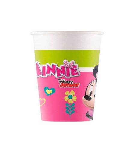 Immagine di Bicchieri in carta 200 cc Minnie Happy Helpers 8 pezzi