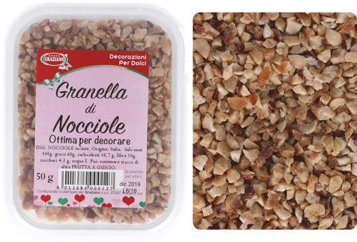Immagine di Granella di Nocciole 50 grammi