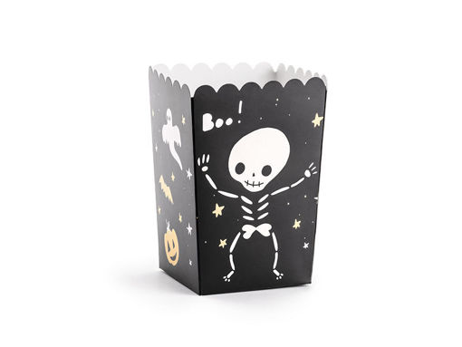 Immagine di Box Pop Corn Halloween 7x7x12,5 cm 6 pz