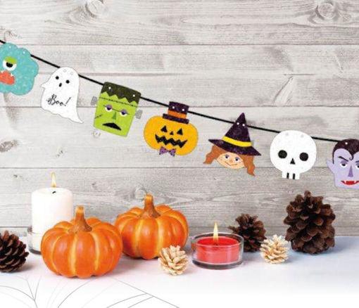 Immagine di Festone in Carta Happy Halloween 2 metri