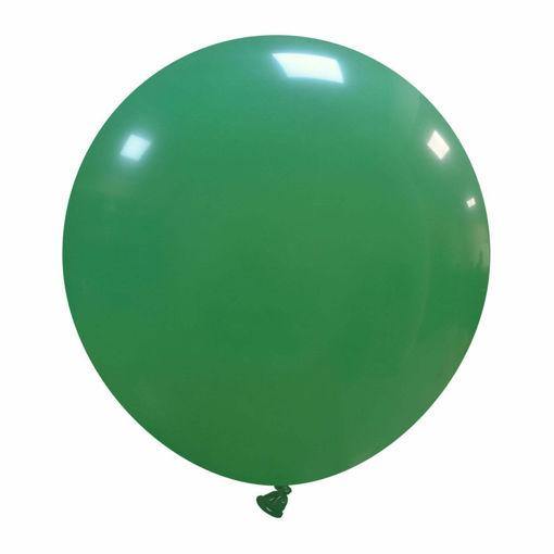"""Immagine di 5 Palloncini in Lattice Verde scuro 19"""" 48 cm"""