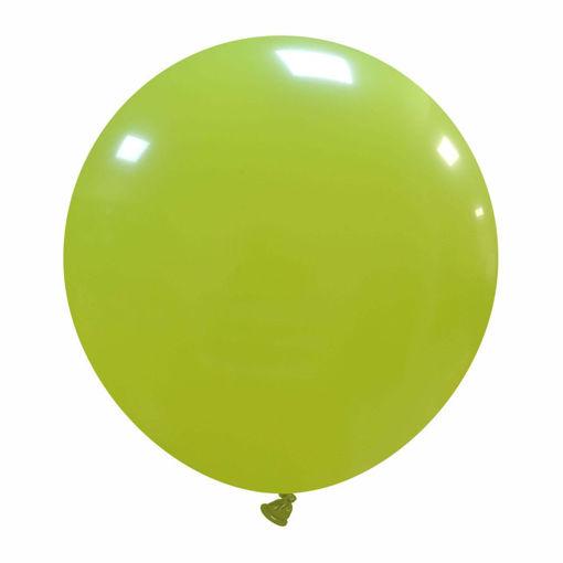"Immagine di 5 Palloncini in Lattice Verde Mela 19"" 48 cm"
