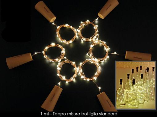 Immagine di Tappo per Decorazione con filo di Luci