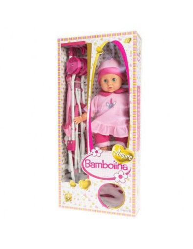 Immagine di Bambola Amore 40 cm Nena con passeggino