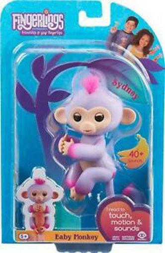 Immagine di Fingerlings - Scimmietta Viola e Rosa - baby Monkey
