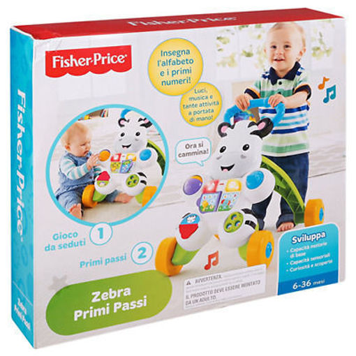 Immagine di Fisher Price Zebra Primi Passi Spingibile