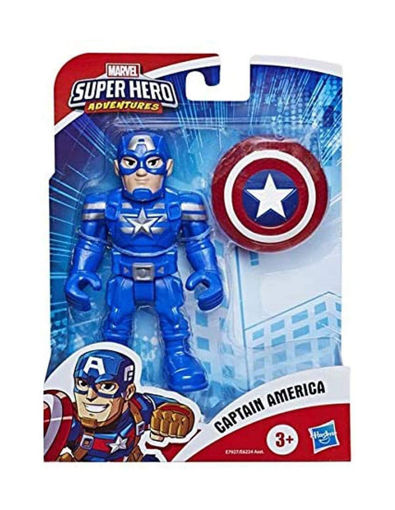 Immagine di Hasbro The Avengers Marvel Super Hero Captain America 13 cm