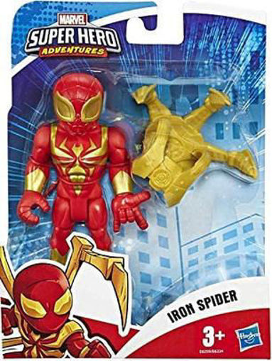 Immagine di Hasbro The Avengers Marvel Super Hero Iron Spider 13 cm