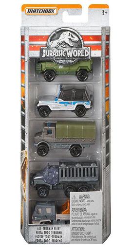 Immagine di Jurassic World 5 veicoli
