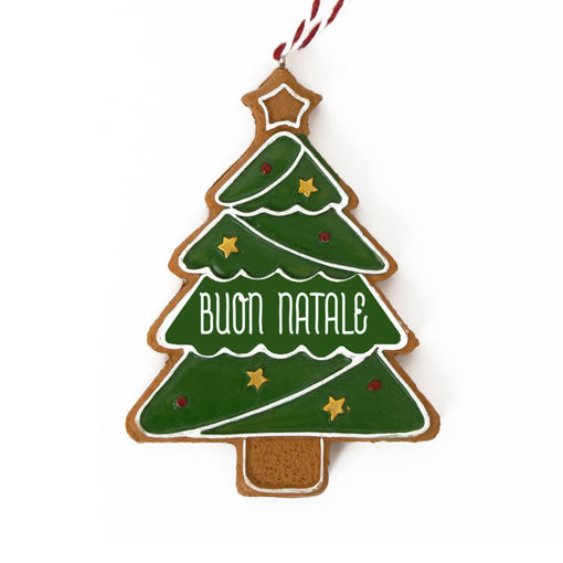 Immagine di Pendente Albero di Natale - Buon Natale