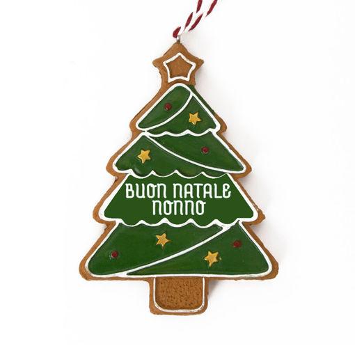 Immagine di Pendente Albero di Natale - Buon Natale Nonno