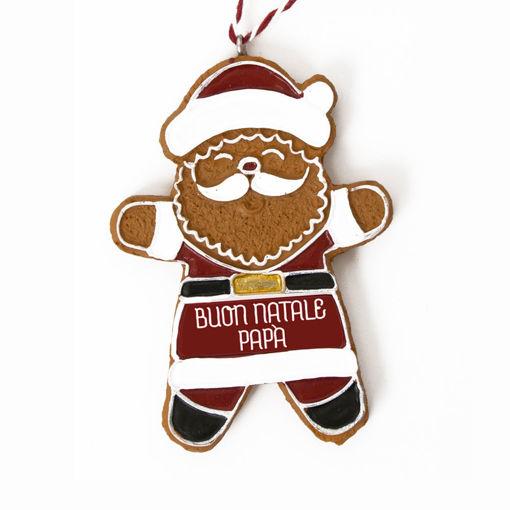Immagine di Pendente Babbo Natale - Buon Natale Papà