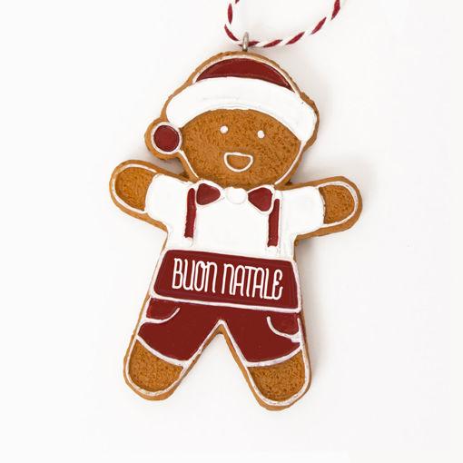 Immagine di Pendente Ginger Boy - Buon Natale