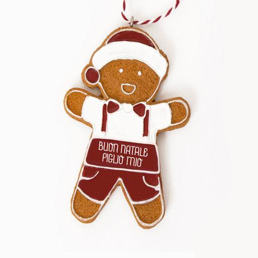 Immagine di Pendente Ginger Boy - Buon Natale Figlio Mio