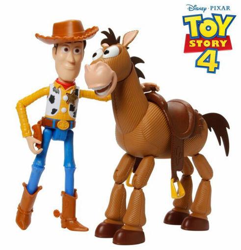 Immagine di Mattel Personaggio Toy Story 4 Woody e Bullseye