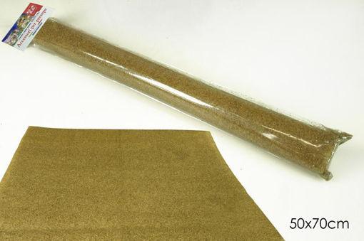 Immagine di Rotolo Carta per Presepe Prato Marrone 50x70 cm