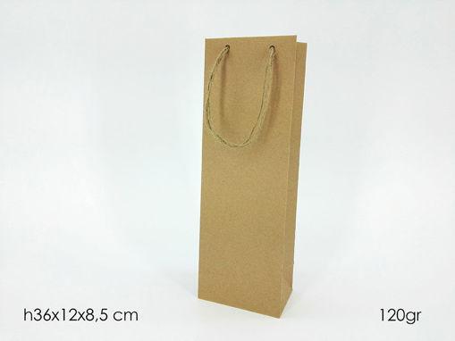 Immagine di Busta Porta Bottiglia Avana