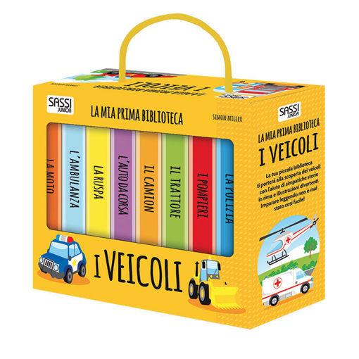 Immagine di La Mia Prima Biblioteca - I Veicoli