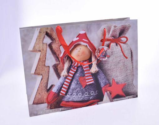 Immagine di Busta con decoro Natalizio 45,5x10,5x33 cm