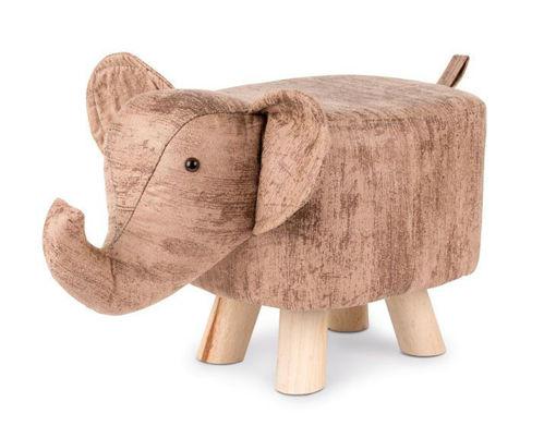 Immagine di Pouff Elefante striato