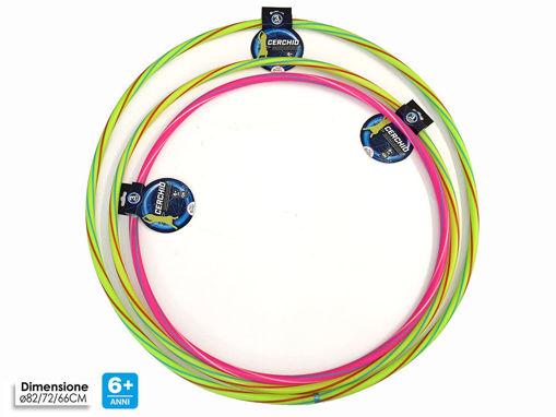 Immagine di Hula Hoop - colori e misure assortite