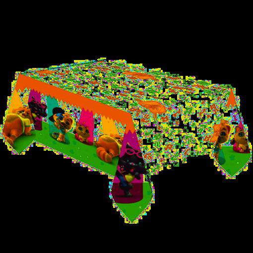 Immagine di Tovaglia in carta 44 Gatti 1,8x1,2 metri