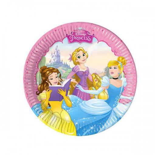 Immagine di Piatti Principesse Dreaming Disney 19,5 cm 8 pezzi