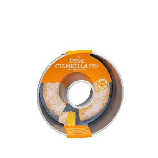 Immagine di Stampo Savarin Antiaderente Ciambella diametro 20 cm altezza 7,5 cm