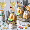 Immagine di Decorazioni in Zucchero Natalizie Santa Claus 6 pezzi
