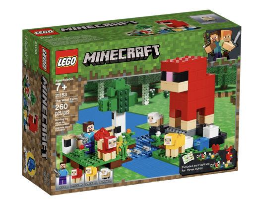 Immagine di Lego Minecraft La fattoria della lana