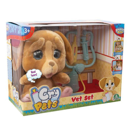 Immagine di Cry Pets Veterinario Set Deluxe Peluche Interattivo