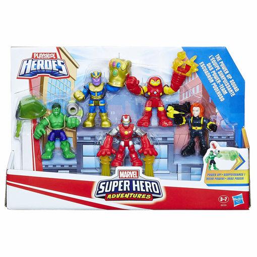 Immagine di 5 Personaggi Super Eroe Avventure