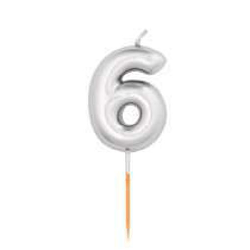 candelina numero 6
