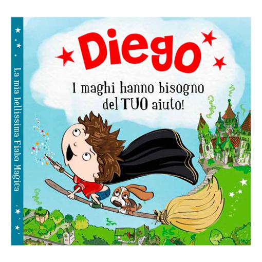 Immagine di Libro fiaba personalizzata - Diego