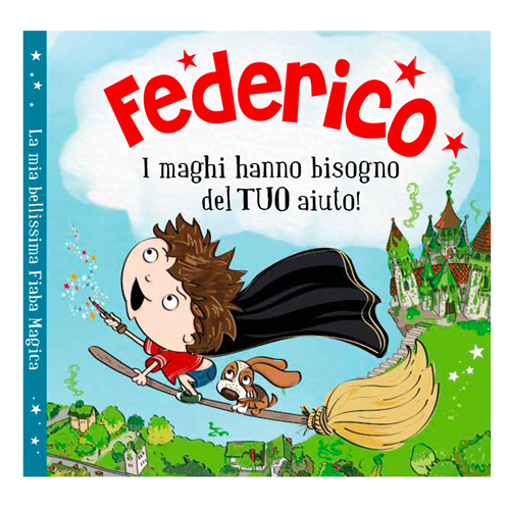 Immagine di Libro fiaba personalizzata - Federico