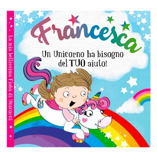 Immagine di Libro fiaba personalizzata - Francesca