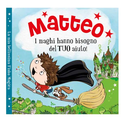 Immagine di Libro fiaba personalizzata - Matteo