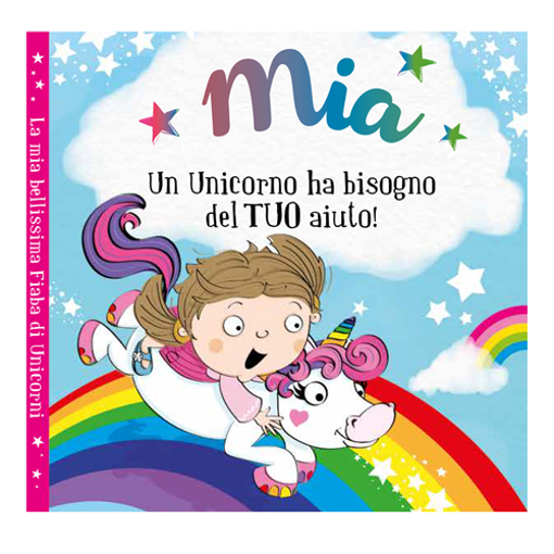 Immagine di Libro fiaba personalizzata - Mia