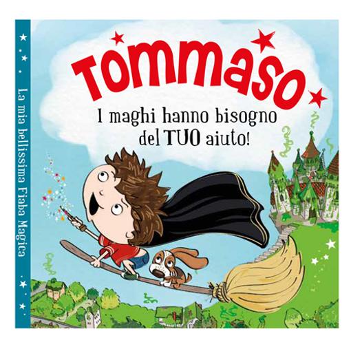 Immagine di Libro fiaba personalizzata - Tommaso